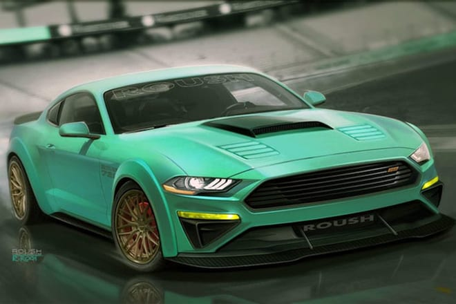 Seven MustSee Ford Mustangs At The SEMA Show - Cool rims for cars