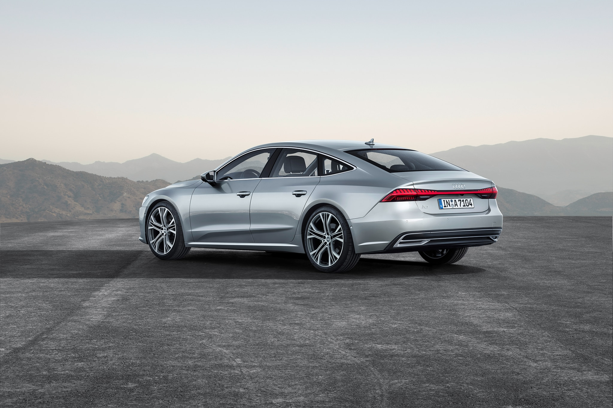2019 Audi A7 Looks Slick And Turns Up The Tech