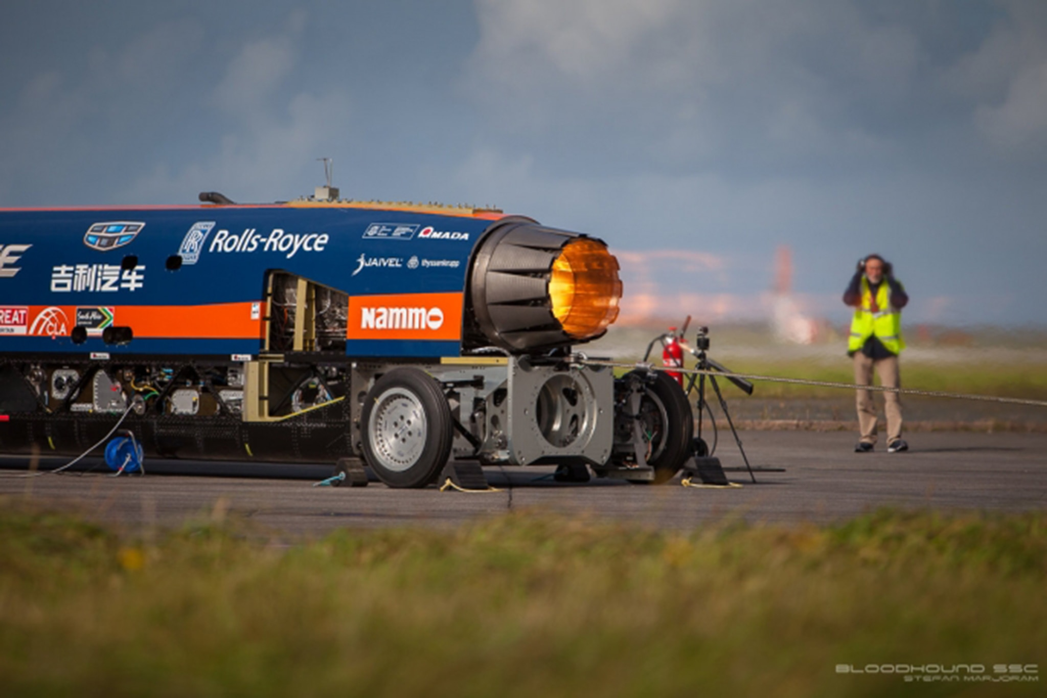 Bloodhound SSC Fired