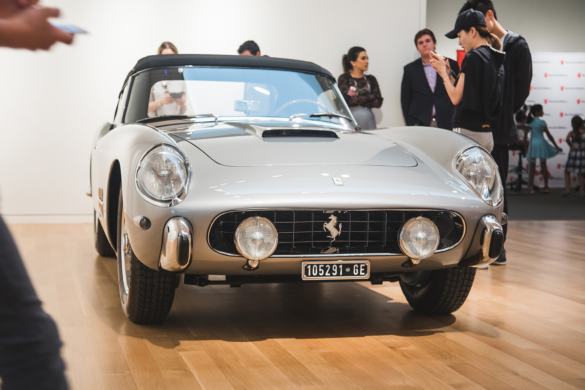 Ferraris On Display At RM'S Sotheby's New York 23