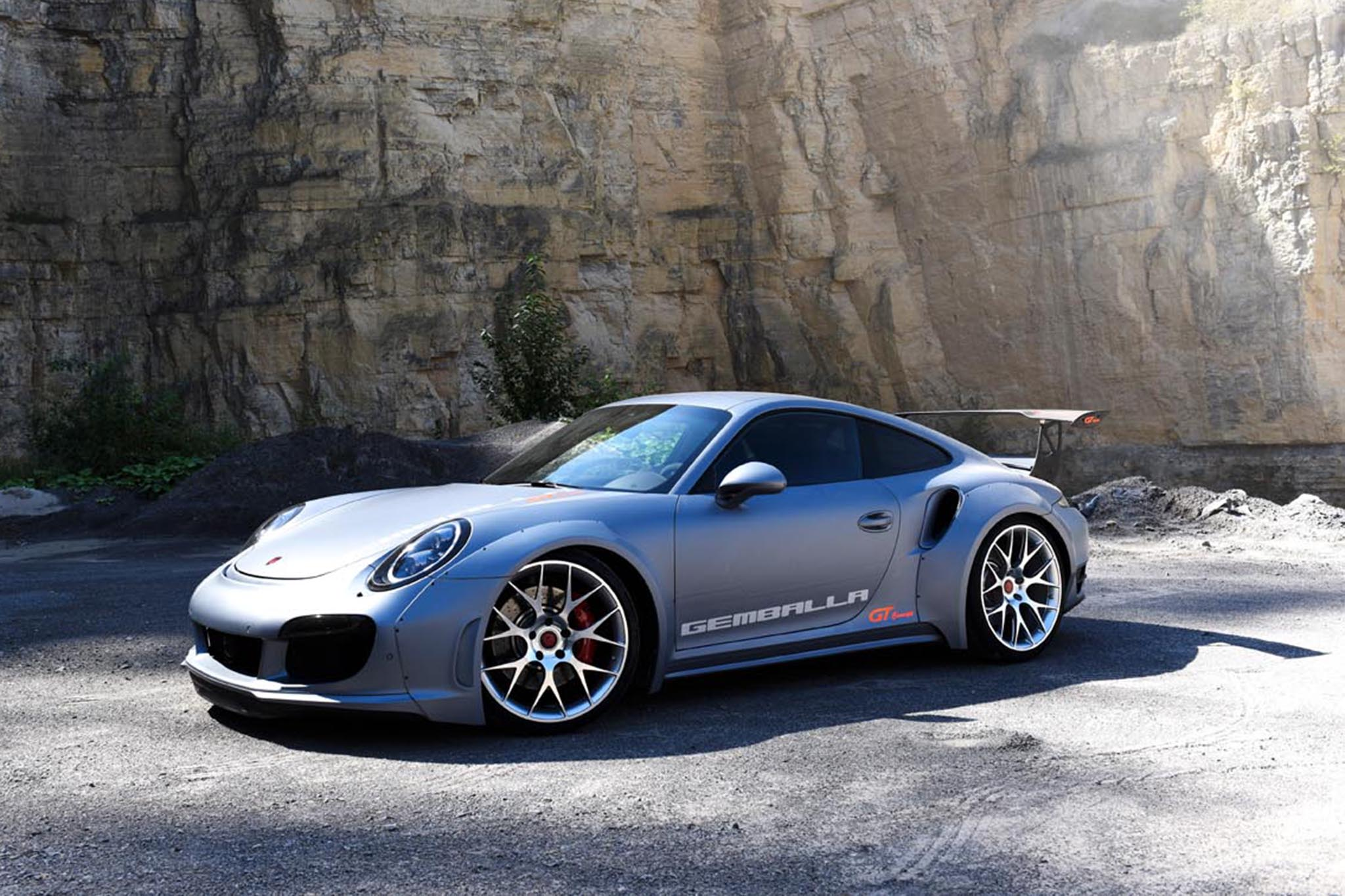 Gemballa GT Concept Side Three Quarters