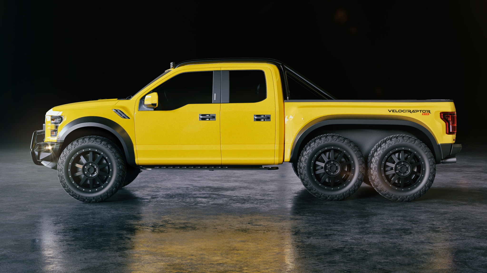 Hennessey Velociraptor 6x6 Debuts With A 349 000 Price Tag