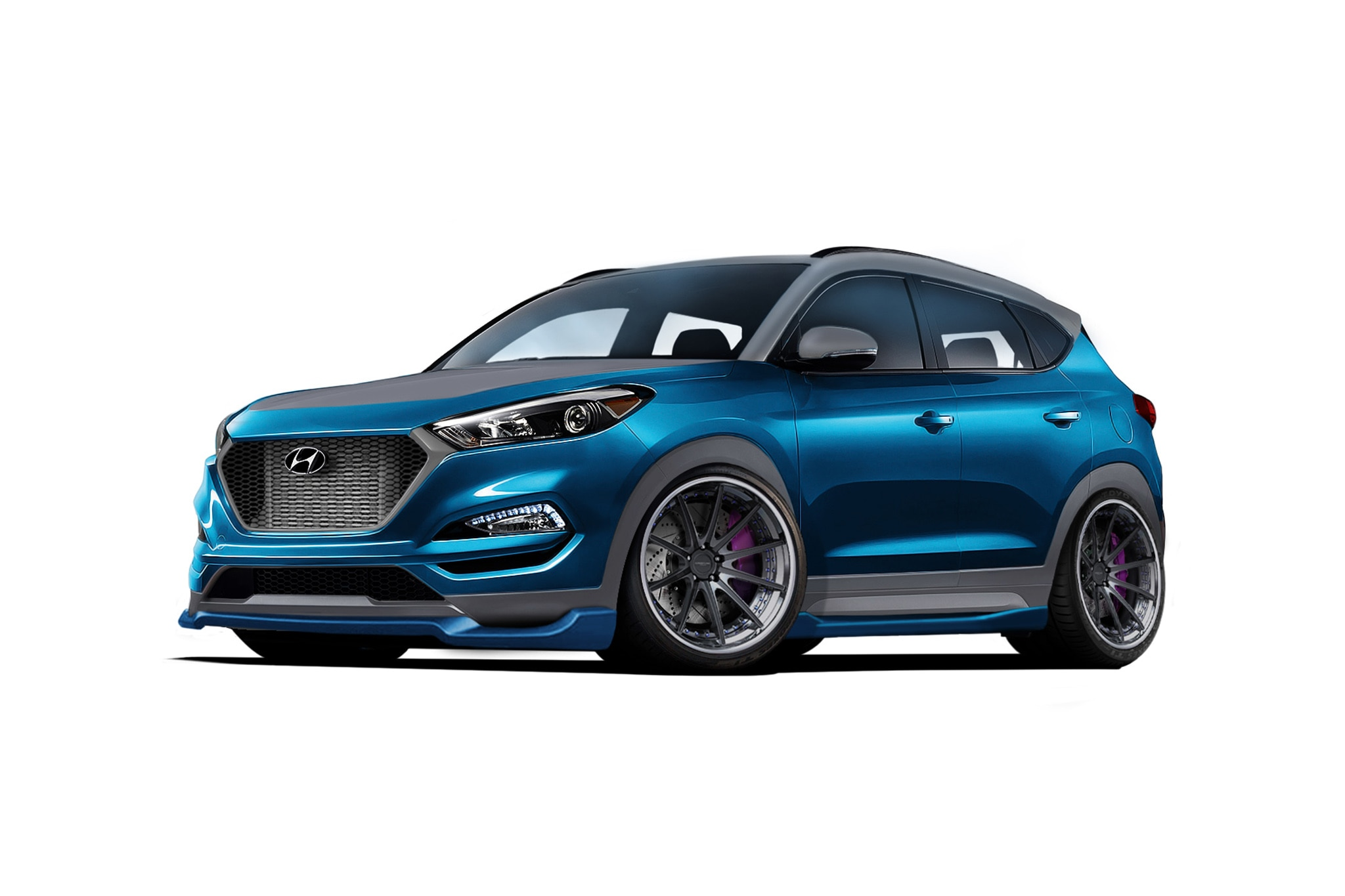 Hyundai Vaccar Tuscson Sport Concept SEMA