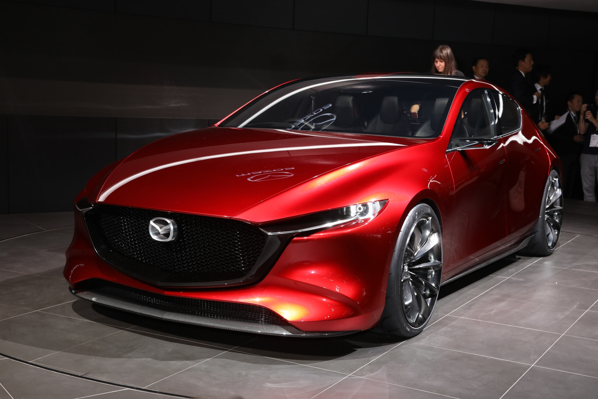 Next-gen Mazda 3 previewed with Kai technology concept