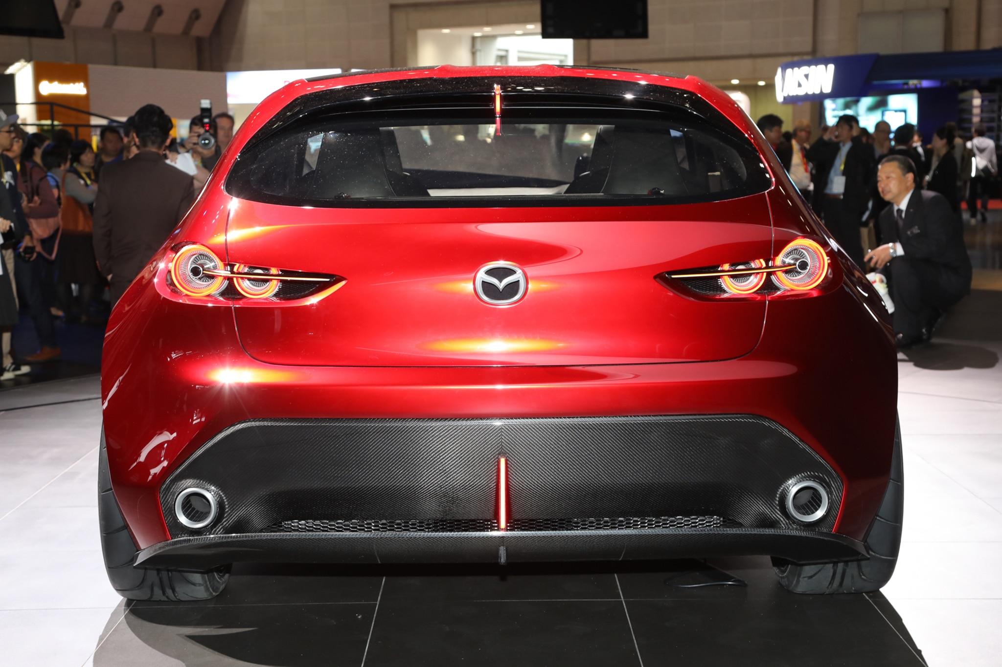 Mazda Kai Concept Ups The Compact Hatchback Ante Automobile Magazine