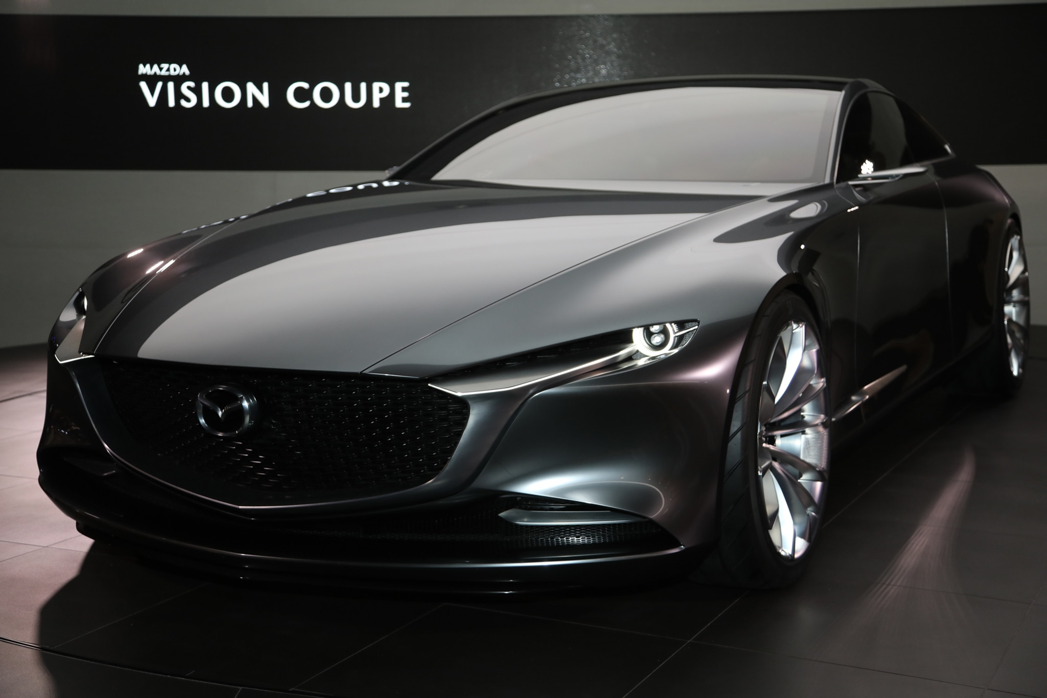 mazda vision coupe concept hints at rwd non rotary flagship automobile magazine. Black Bedroom Furniture Sets. Home Design Ideas