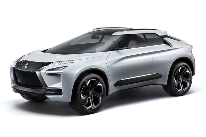 Mitsubishi e-Evolution concept - revealed in full