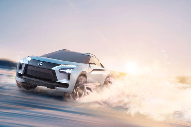 New Mitsubishi e-Evolution Concept Is The EVO Of Crossovers