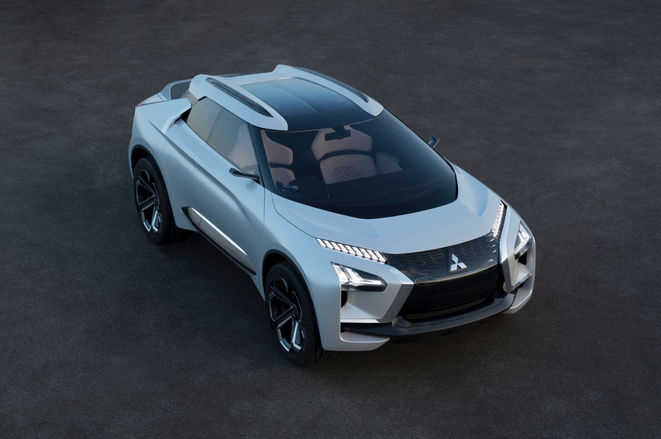 Mitsubishi reveals electric SUV concept