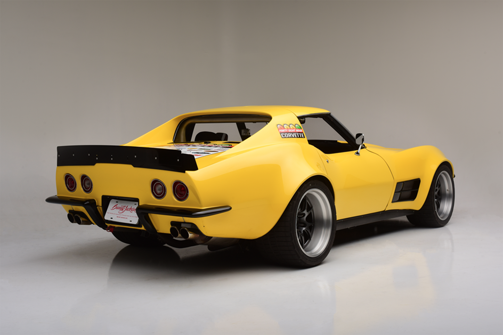 "2019 Corvette News >> Barrett-Jackson's Pro-Touring ""48-Hour"" 1972 Chevrolet Corvette is a Perfect All-Rounder ..."
