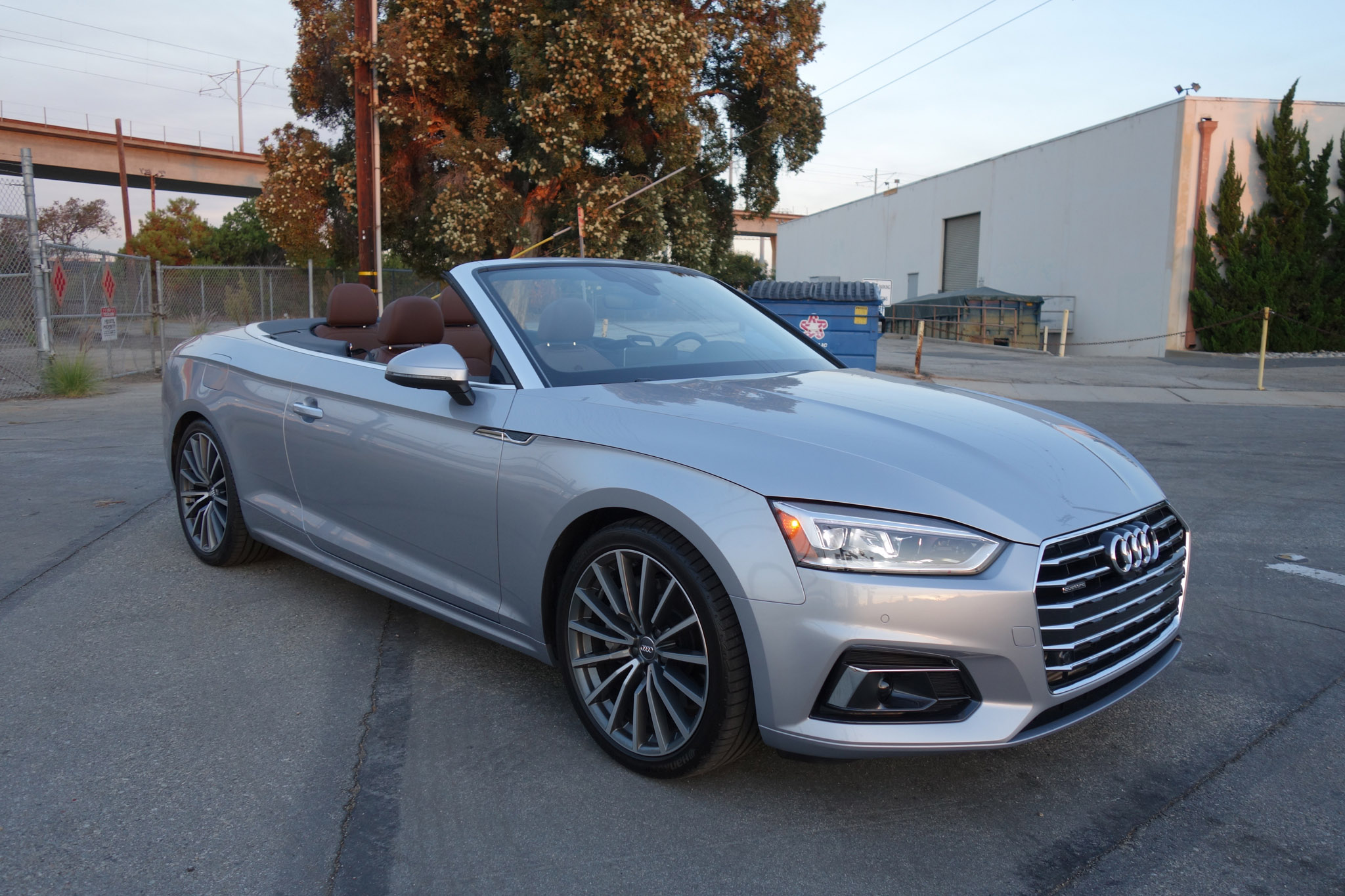 three things we love about the 2018 audi a5 cabriolet 2 0t. Black Bedroom Furniture Sets. Home Design Ideas