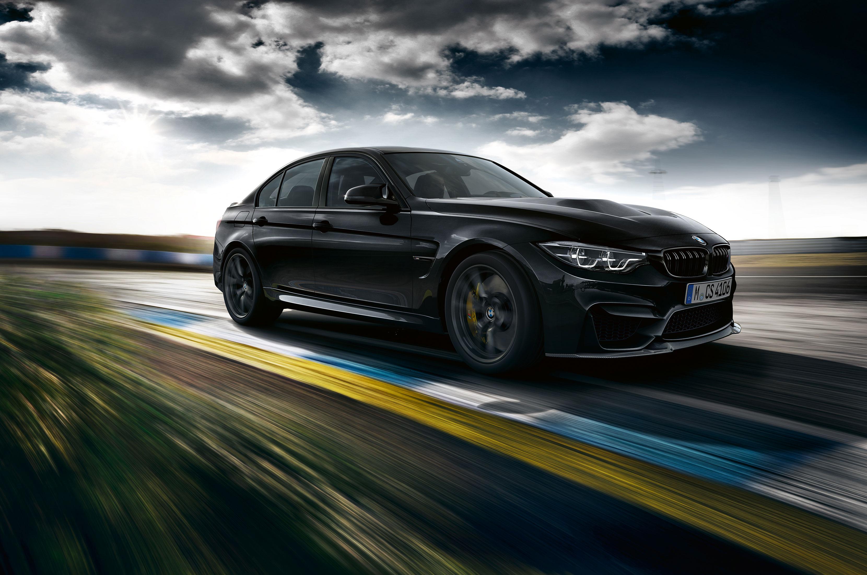 2018 BMW M3 CS Front Three Quarters 2