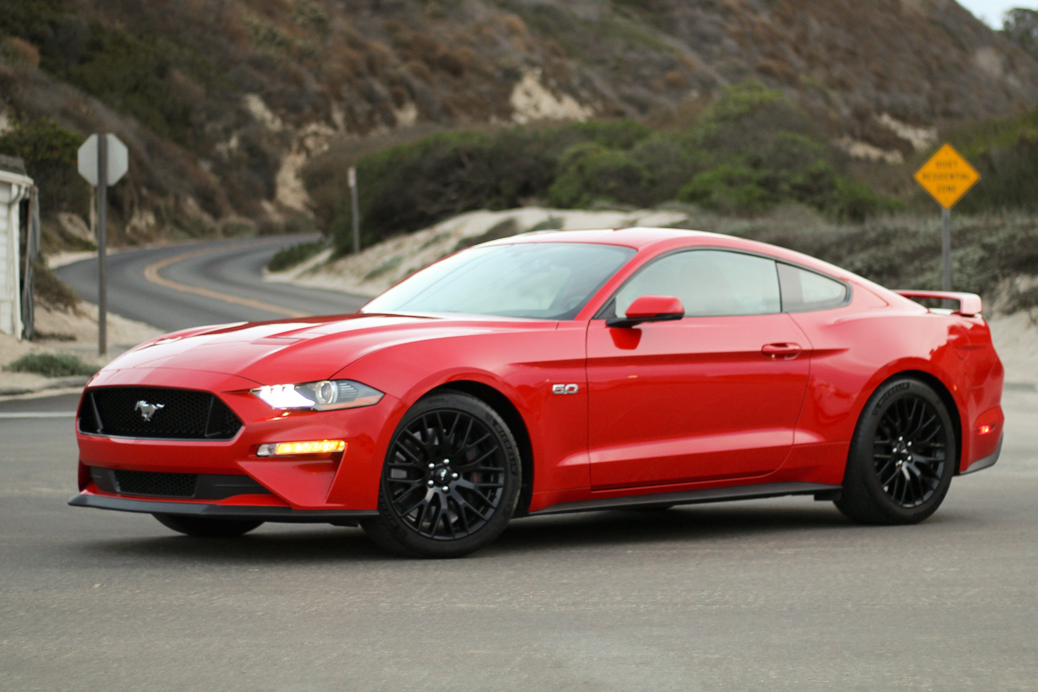 2018 ford mustang gt premium first drive review. Black Bedroom Furniture Sets. Home Design Ideas