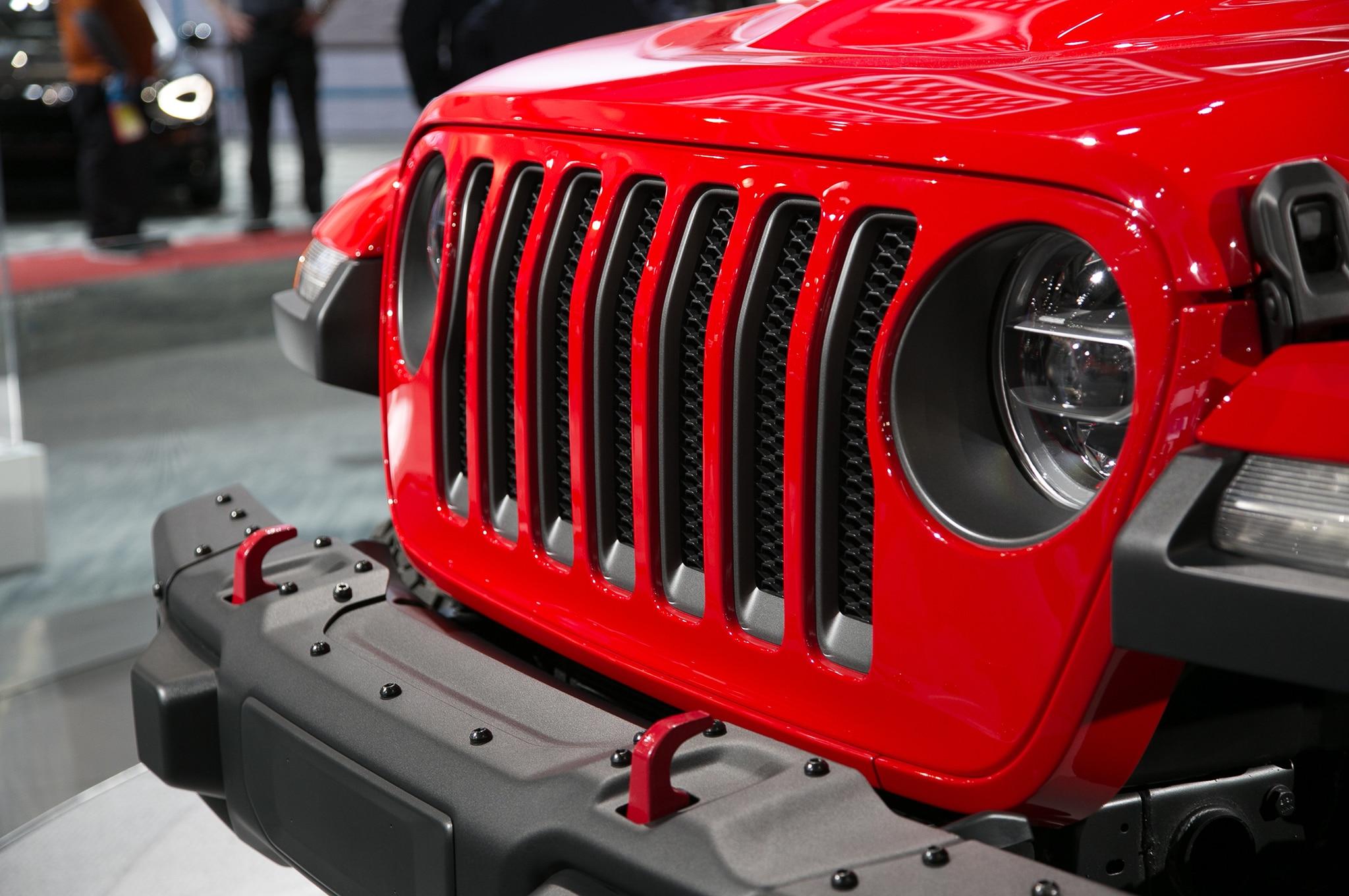 2018 Jeep JL Wrangler News release australia