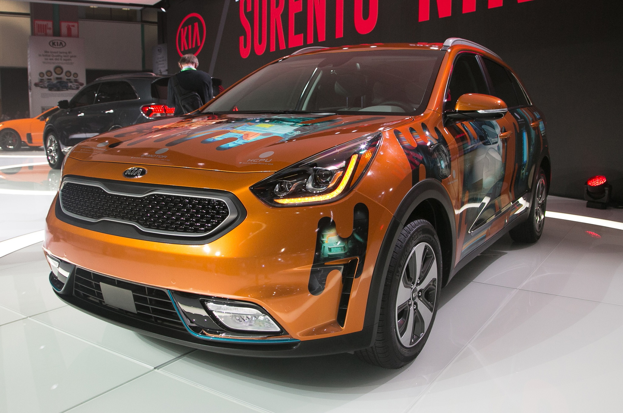 2018 kia niro plug in hybrid is coming soon automobile magazine. Black Bedroom Furniture Sets. Home Design Ideas