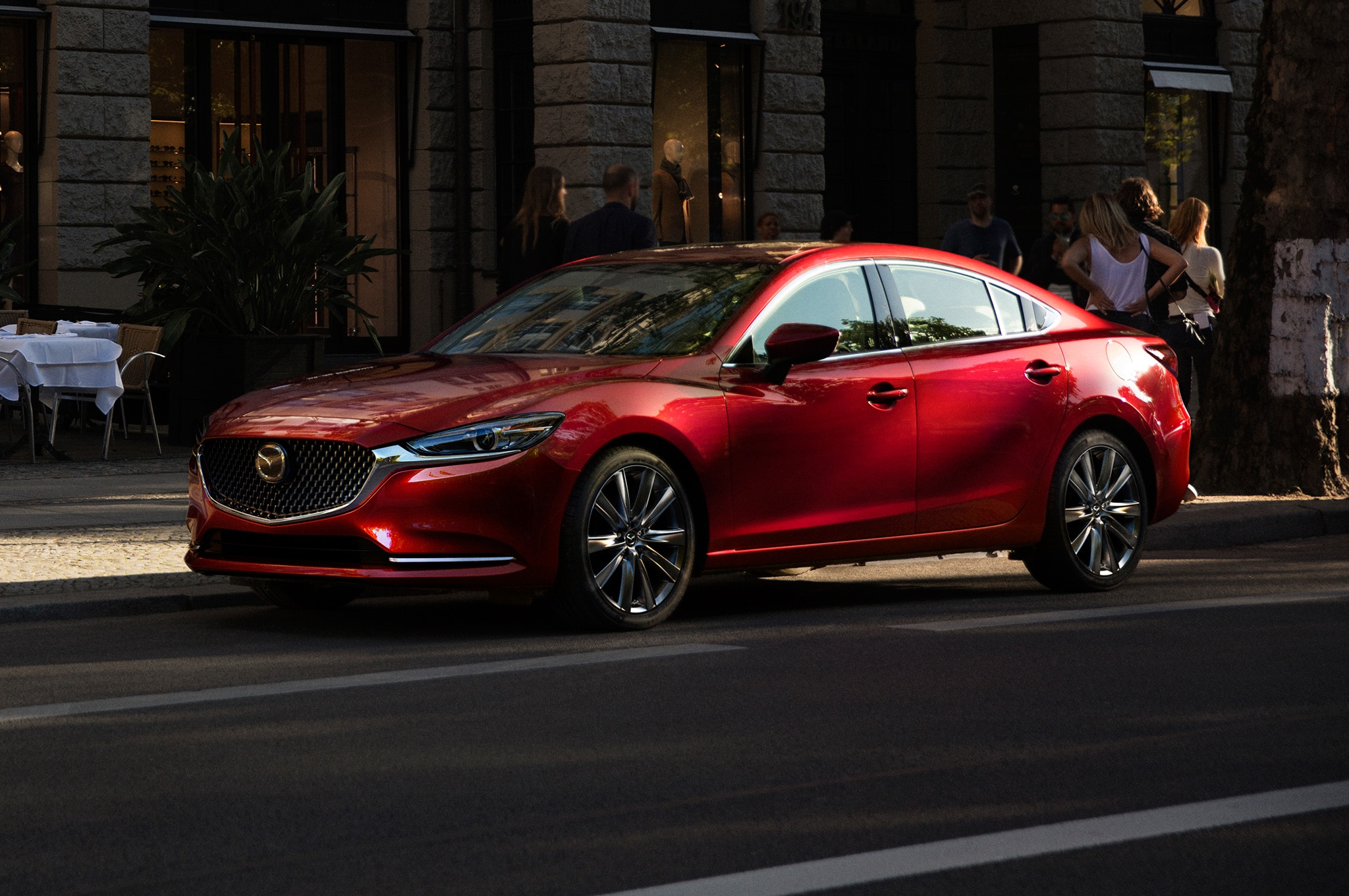 2018 mazda6 gets reloaded with a second power plant choice for 2018 mazda 6 exterior