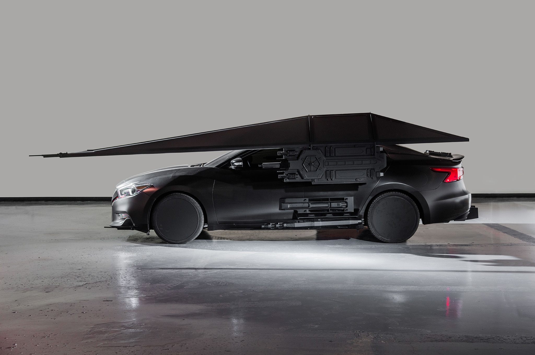 2018 Nissan Maxima Show Car Kylo Rens TIE Silencer Side