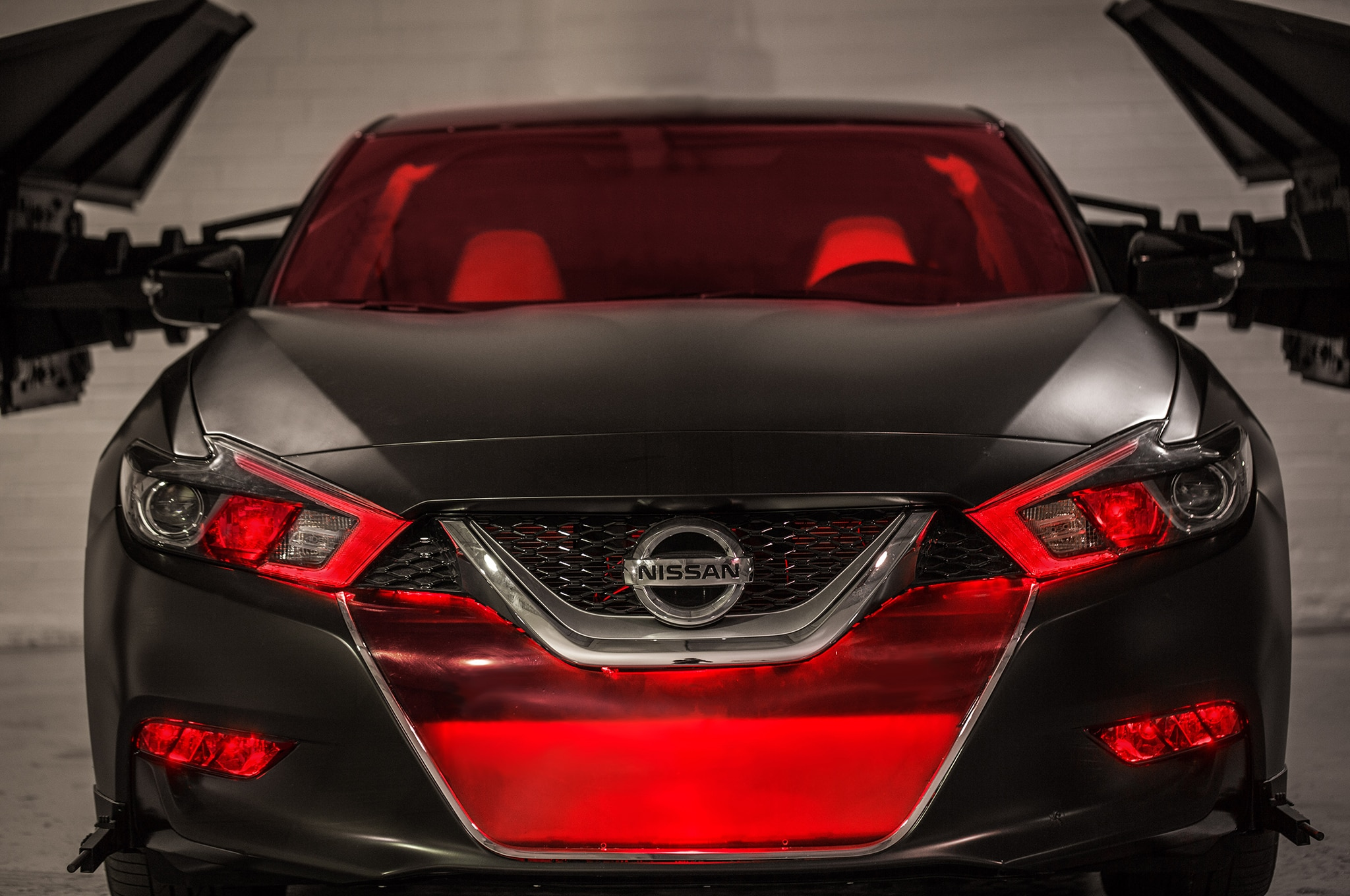 2018 Nissan Maxima Show Car Kylo Rens TIE Silencer