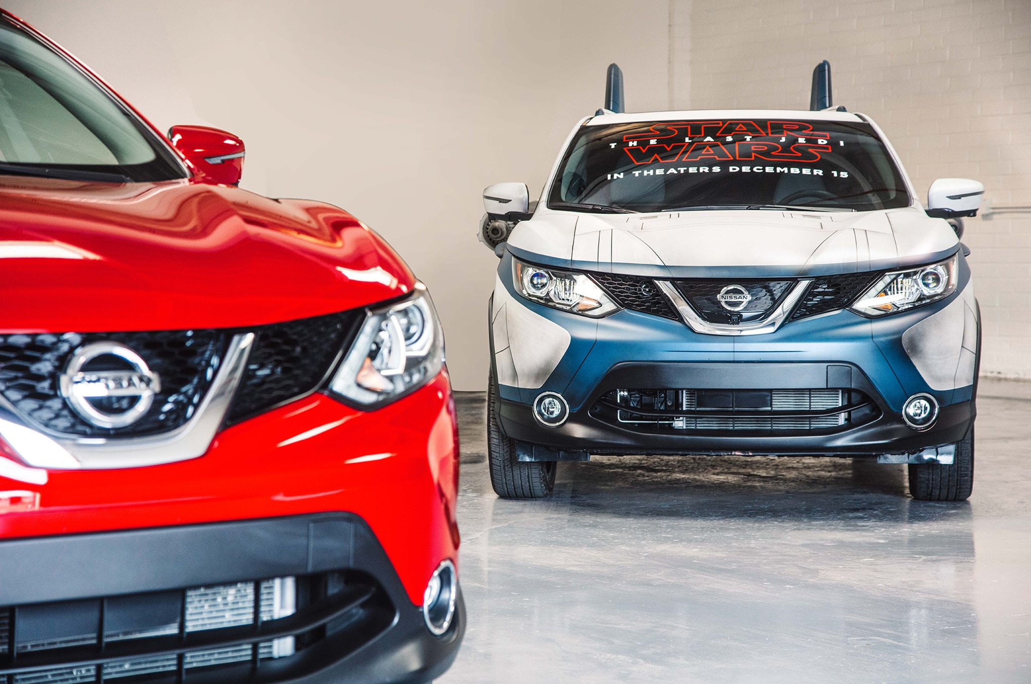 2018 Nissan Rogue Sport Show Car A Wing With Original Rogue