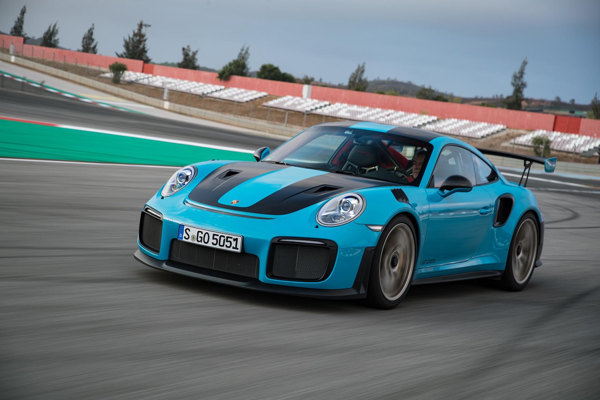2018 Porsche 911 GT2 RS Front Three Quarter In Motion 34