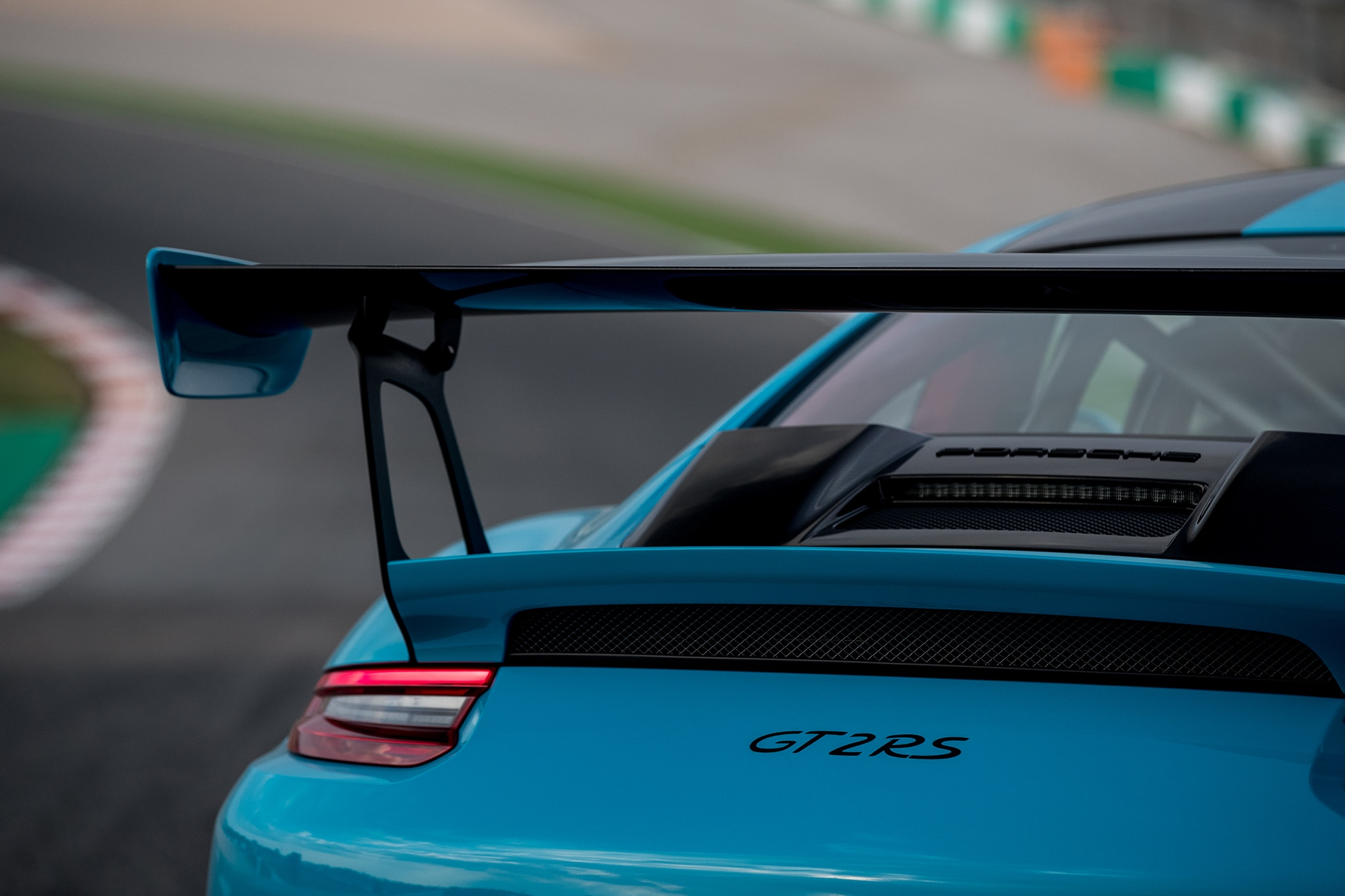 2018-Porsche-911-GT2-RS-wing-04 Breathtaking How Many Porsche 911 Gt2 Were Made Cars Trend