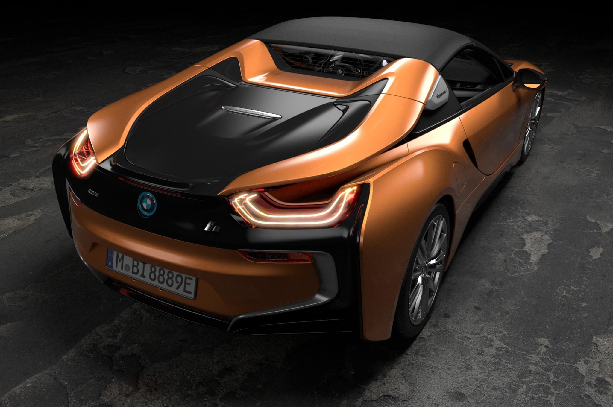 2019 bmw i8 roadster arrives alongside updated coupe