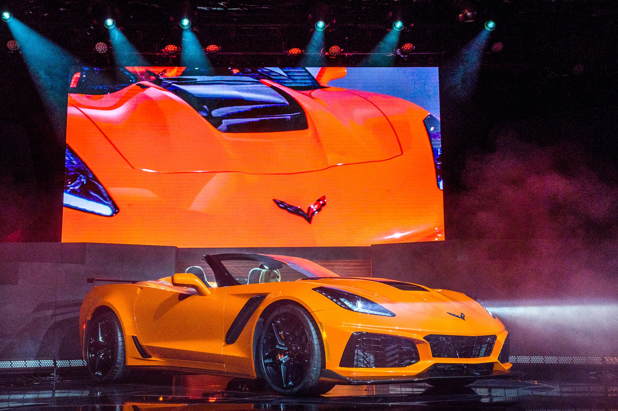 Chevrolet Corvette ZR1 Convertible revealed