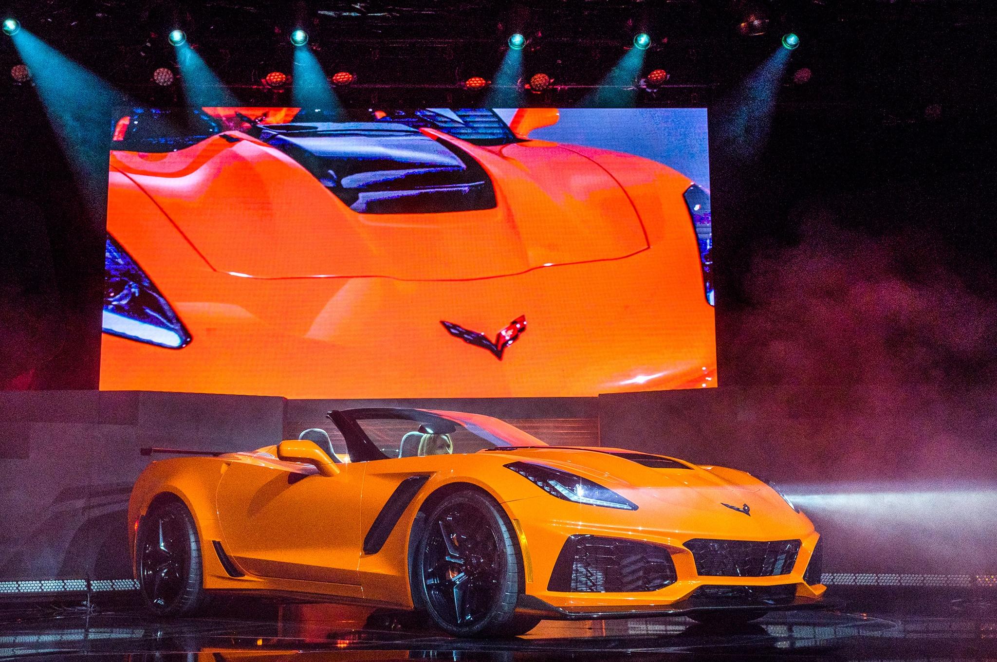 2019 Chevrolet Corvette ZR1 Front Three Quarter
