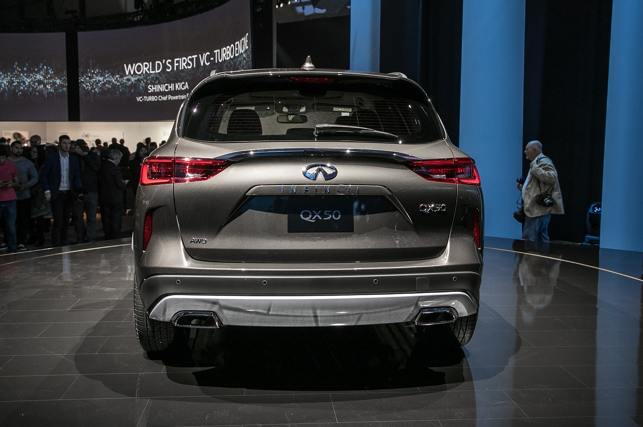engine a cheese into production infiniti the news says camera infinity compression is to new comes with variable first car focus