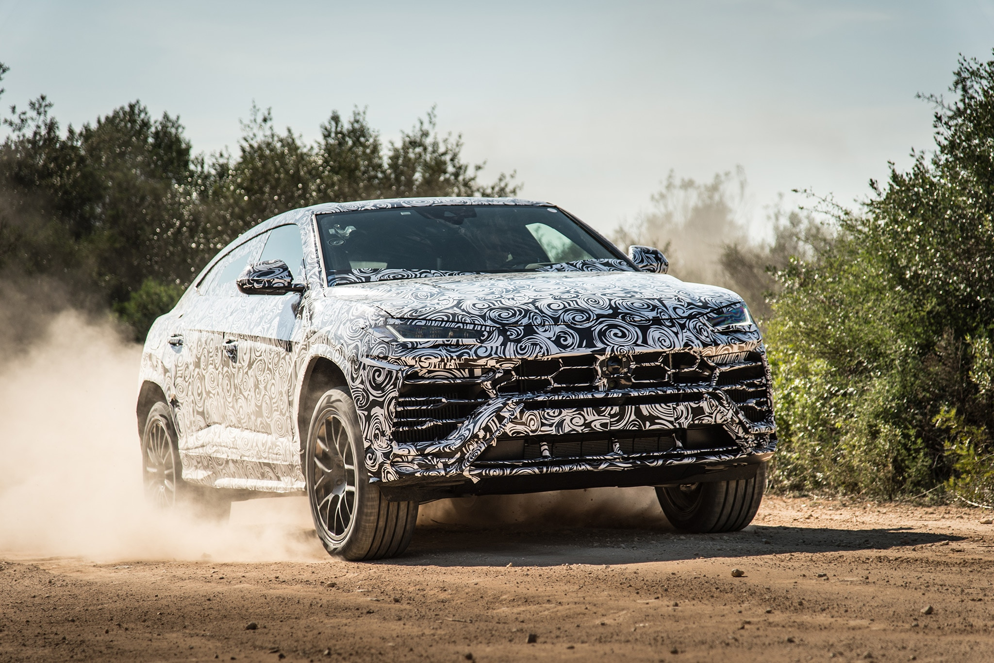 2019 Lamborghini Urus Prototype Nardo 31