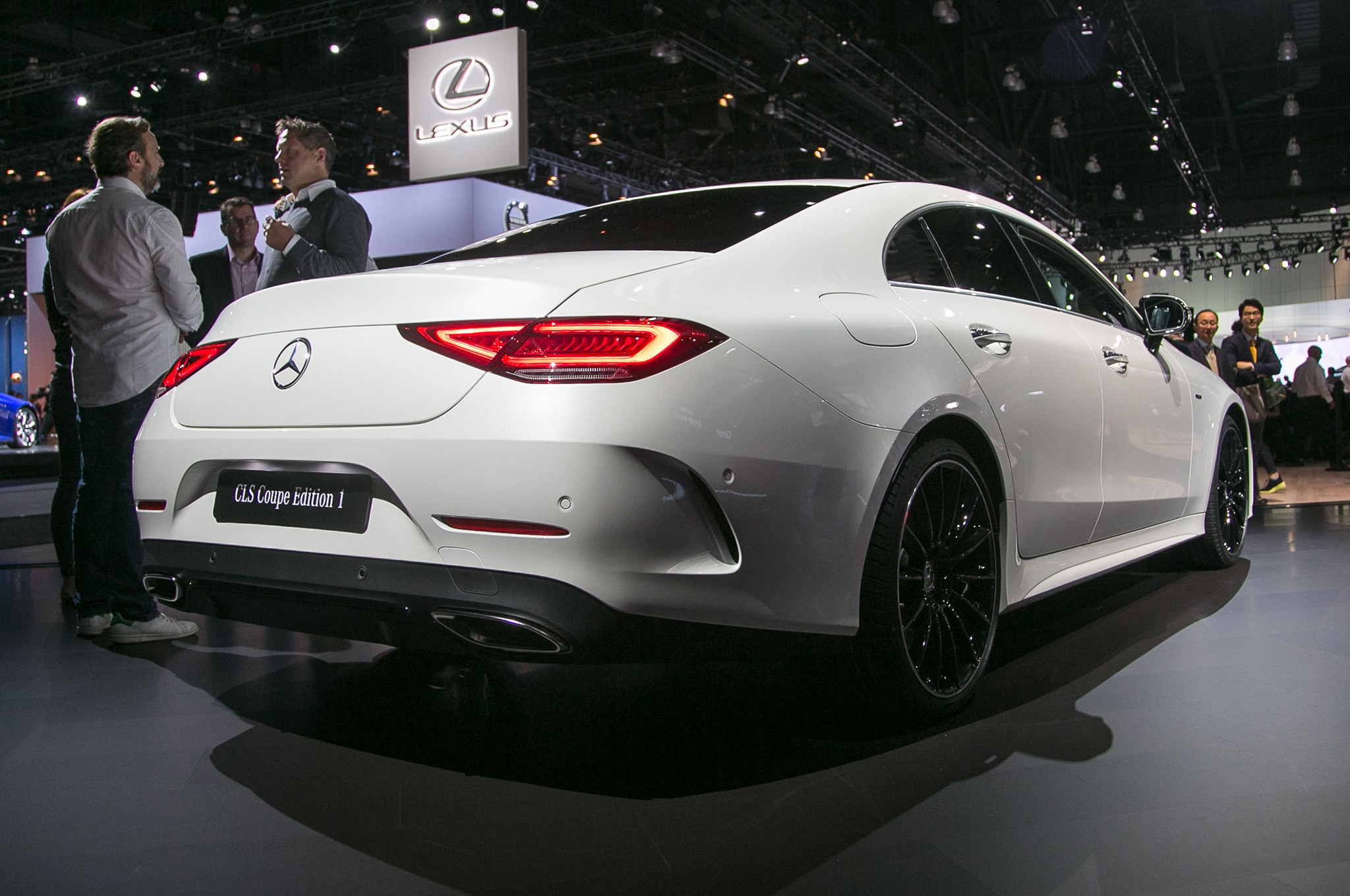2019 mercedes benz cls450 brings inline six power to the for Mercedes benz cls 300 coupe