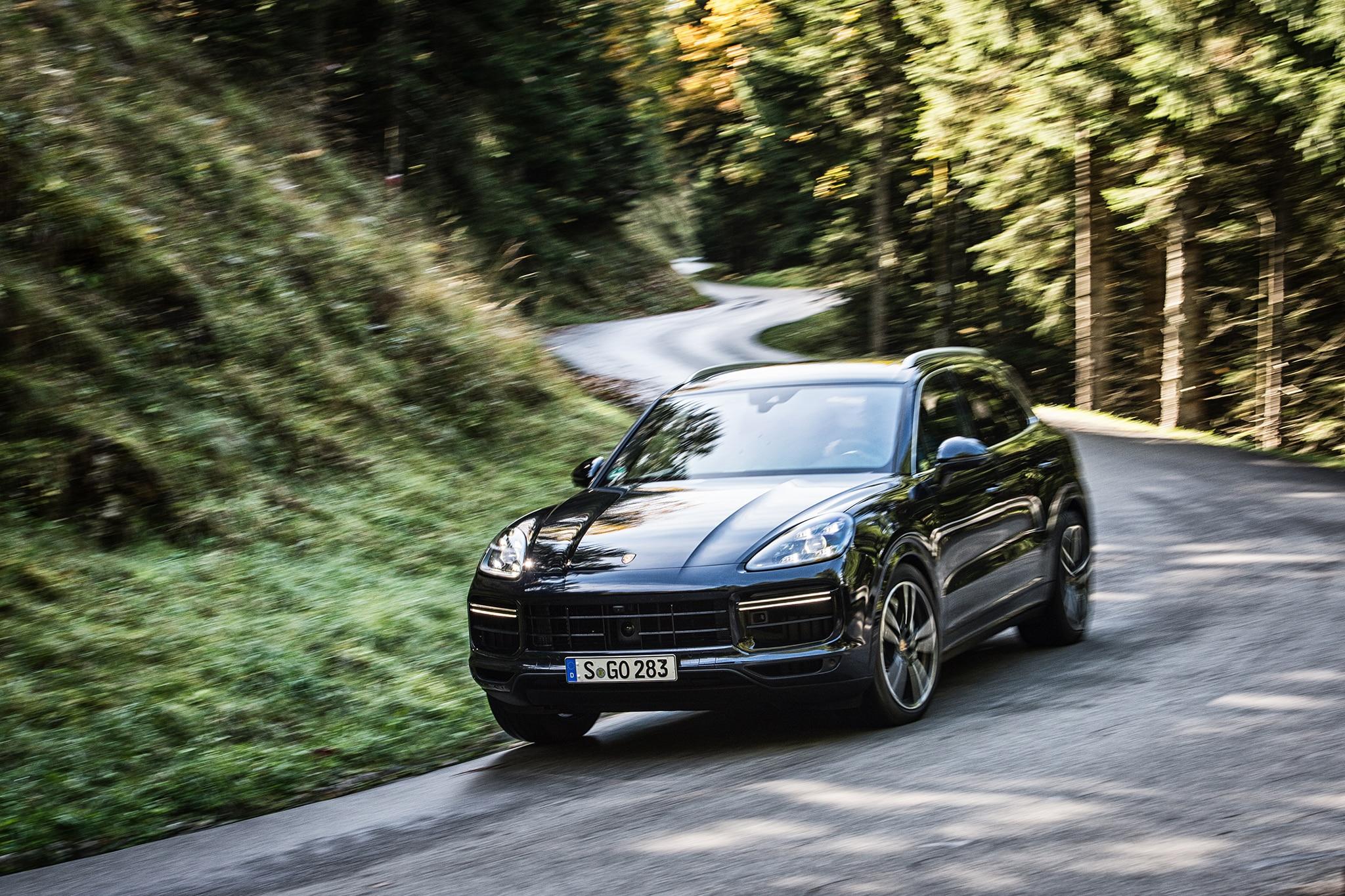 2019 Porsche Cayenn Turbo First Drive Review Automobile