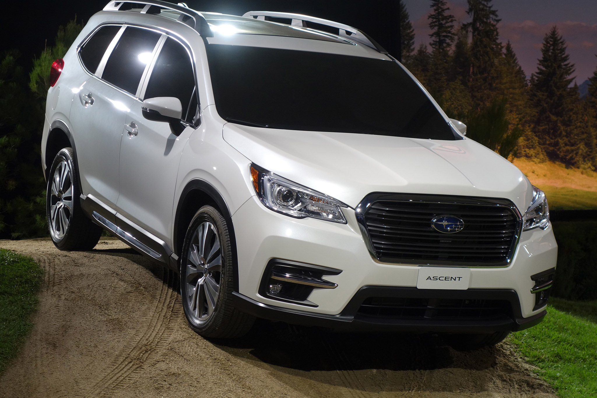 Lan 231 Amento Do Novo Suv Da Subaru O Ascent Confira