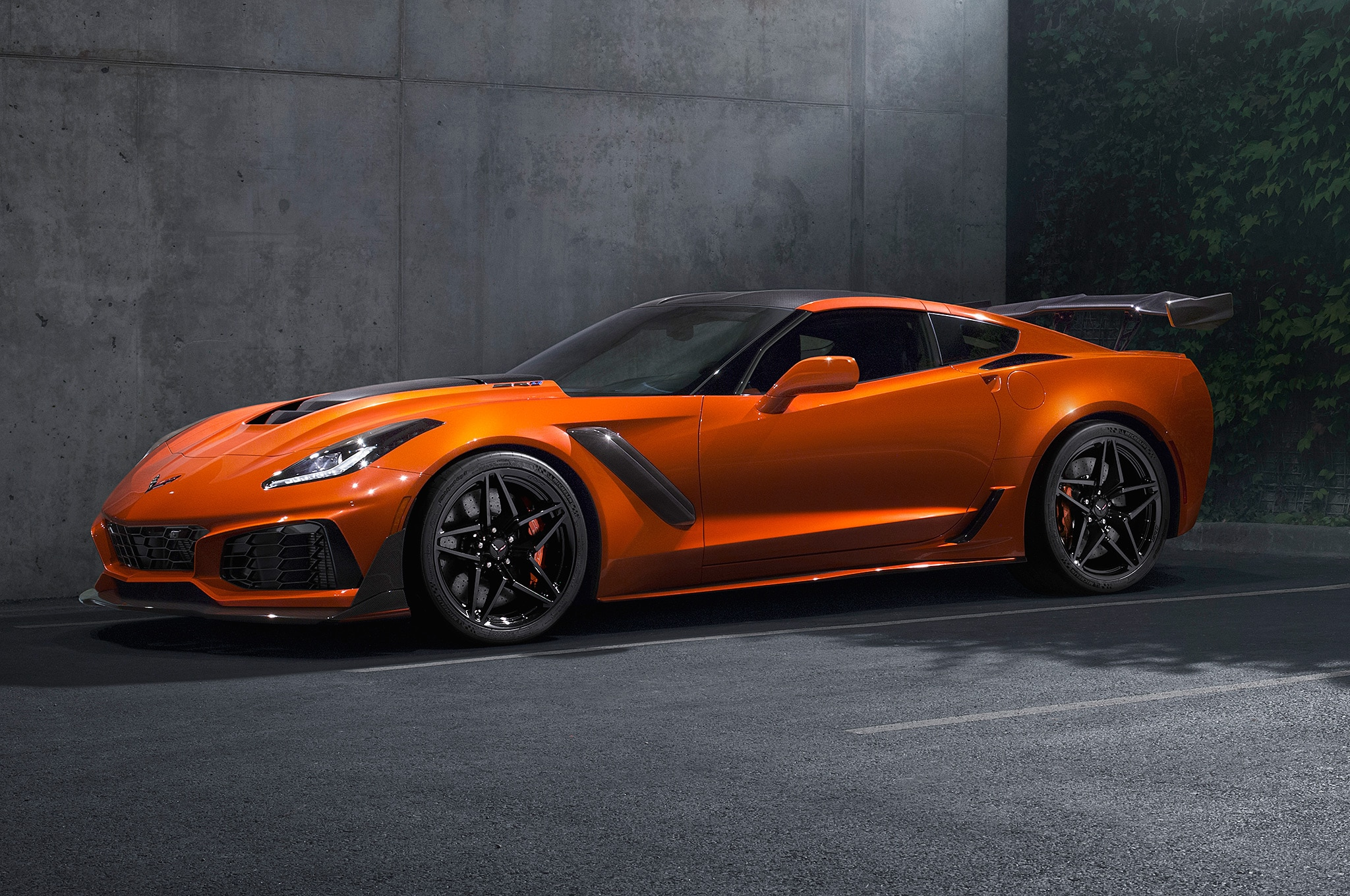 Here Is Your First Look at the 2019 Chevrolet Corvette ZR1