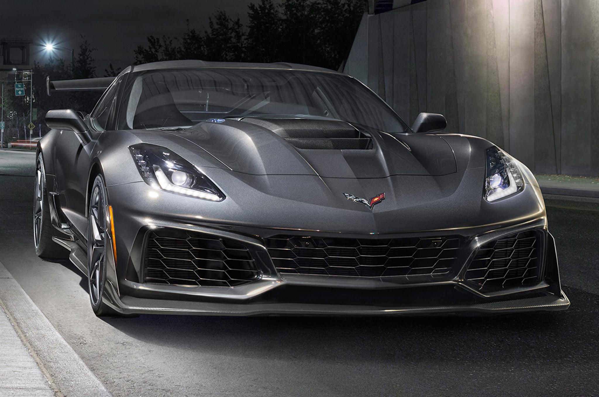 2019 Chevrolet Corvette ZR1 Front View