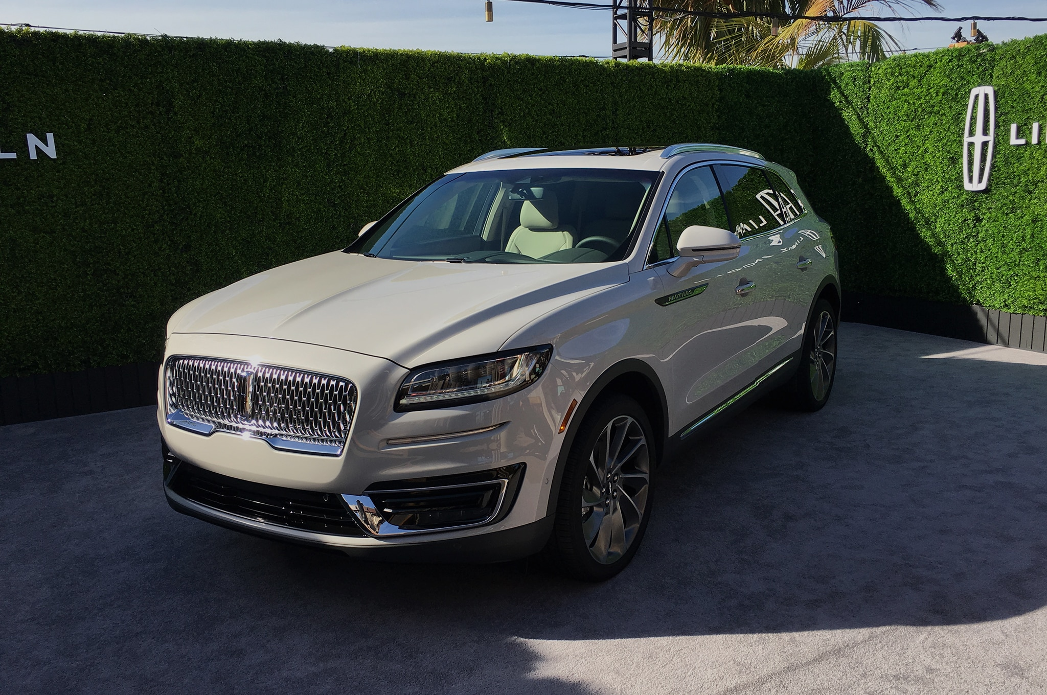 Lincoln Nautilus Price >> VWVortex.com - 2019 Lincoln Nautilus Is The Facelifted MKX