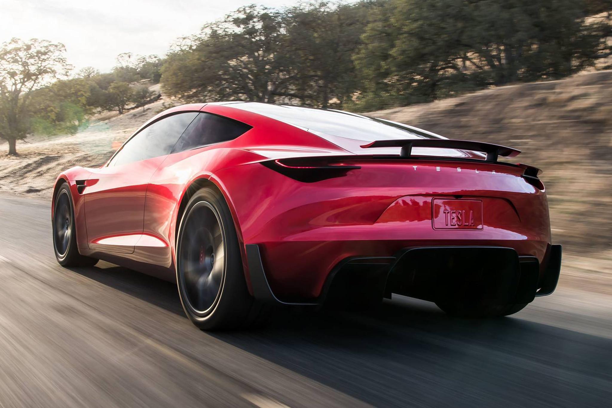 2020 Tesla Roadster Rear