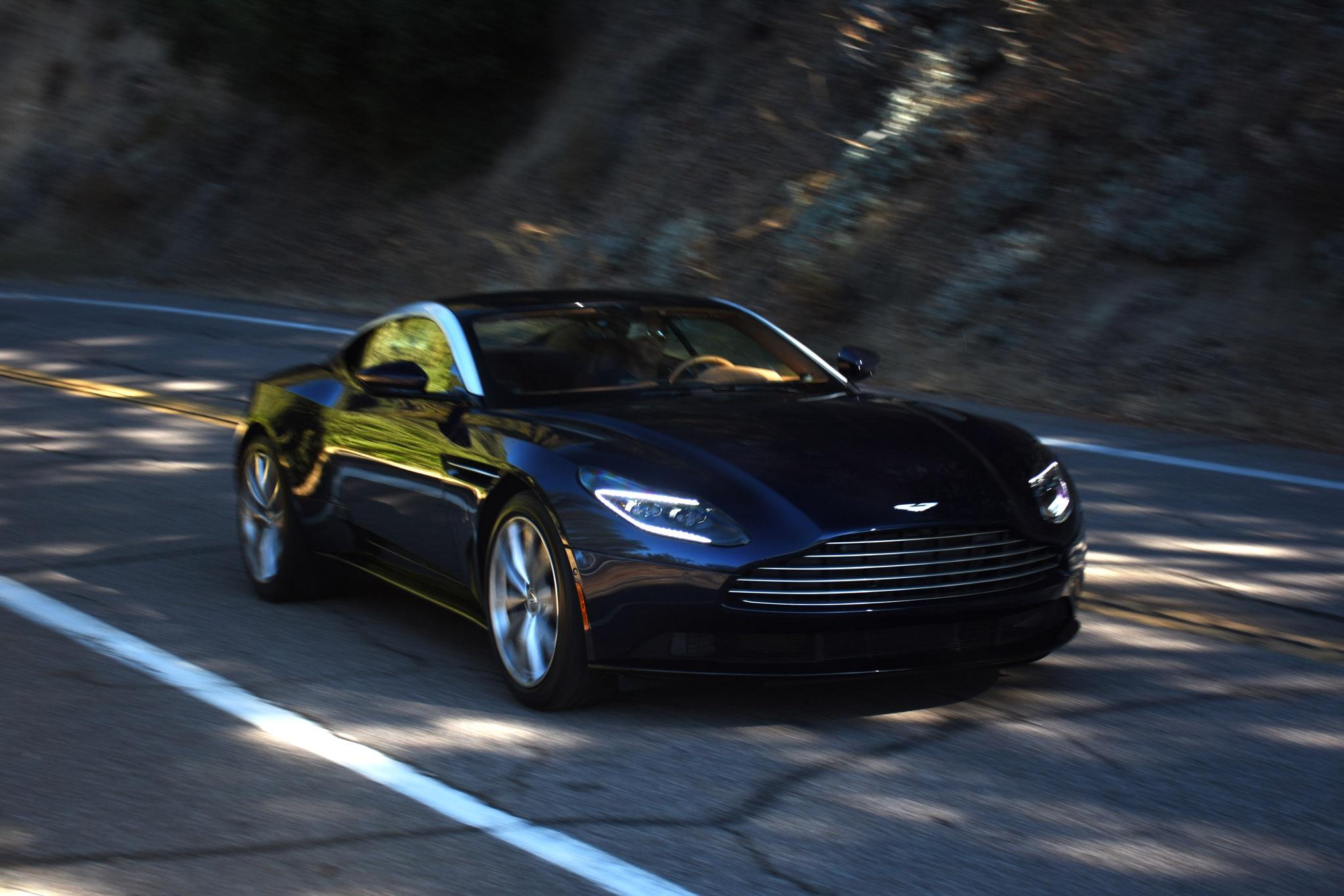 First Drive: 2018 Aston Martin DB11 V8 U.S. Spec