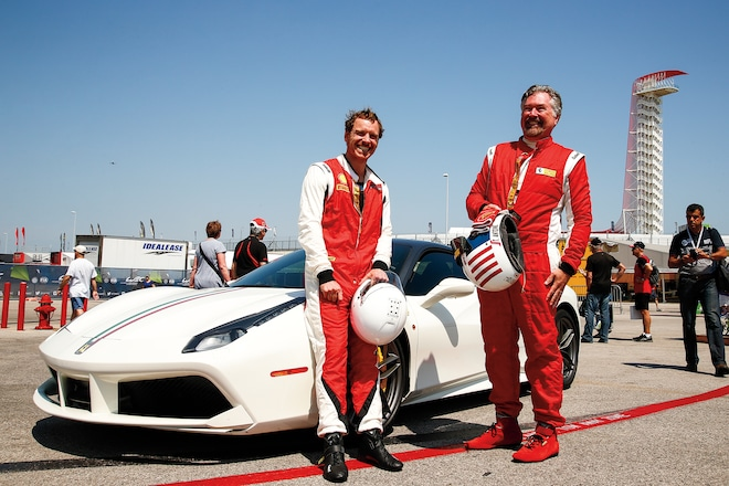 Rockin role ferrari challenge race driver michael fassbender actor and author suit up for hot laps in a 488 gtb fandeluxe Epub