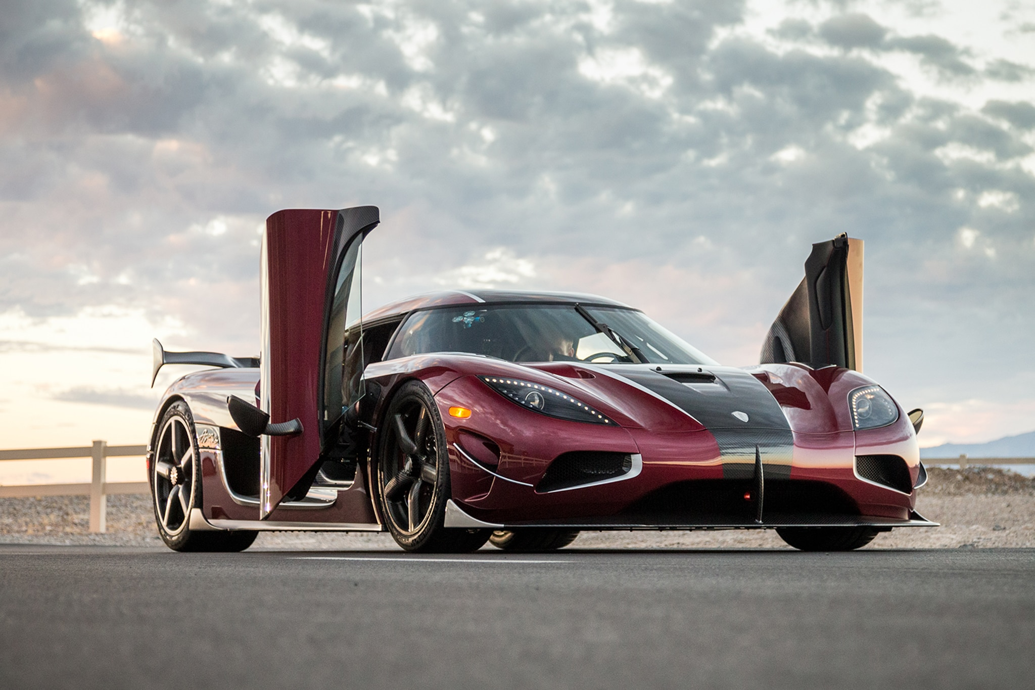 Koenigsegg Came to Nevada to Beat Records and Did — The Inside Story ...