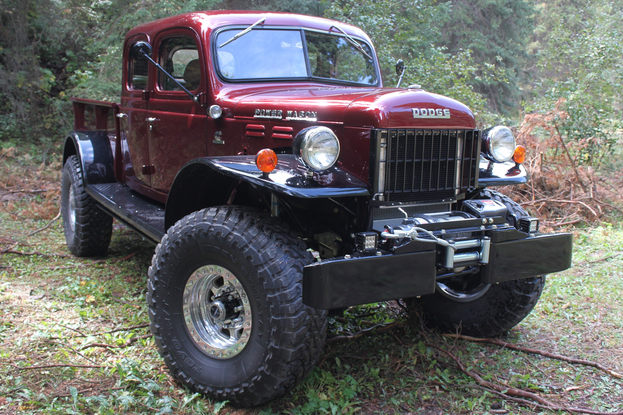 Legacy Classic Trucks Dodge Power Wagon Defines Custom Off