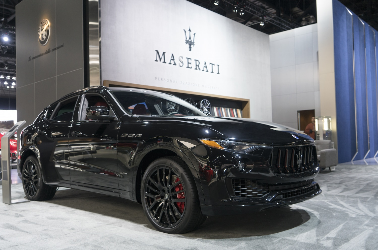 Maserati Levante MY18 With New Nerissimo Package At Los Angeles International AutoShow 2017