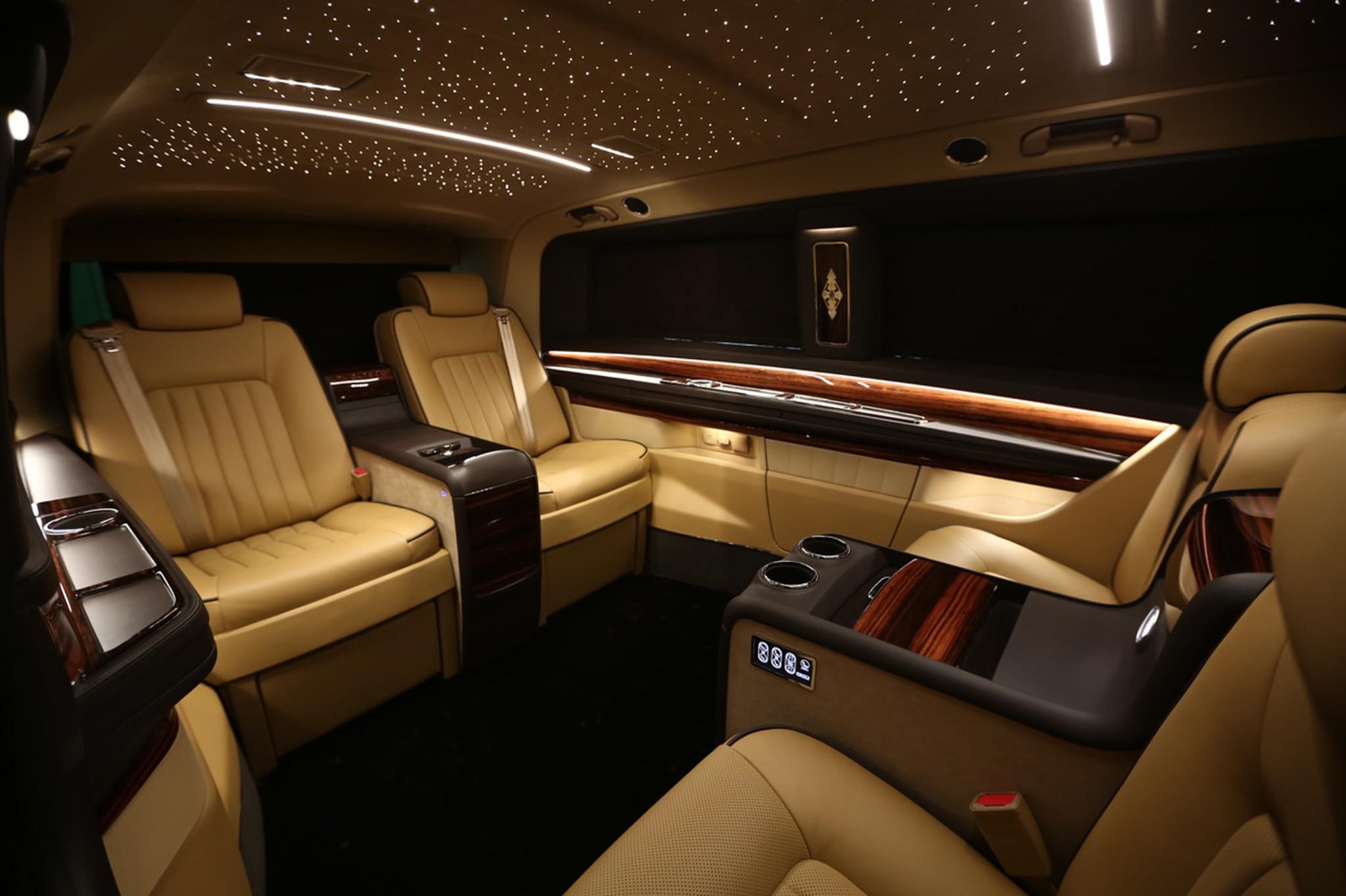 Okcu Elegance Edition V Class Interior