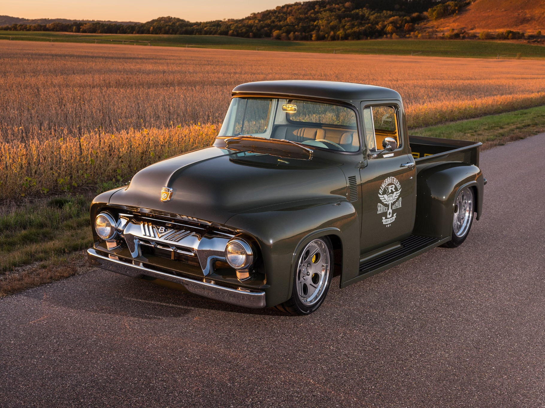 1956 Ford F 100 By Ringbrothers Is A Real Gem Automobile