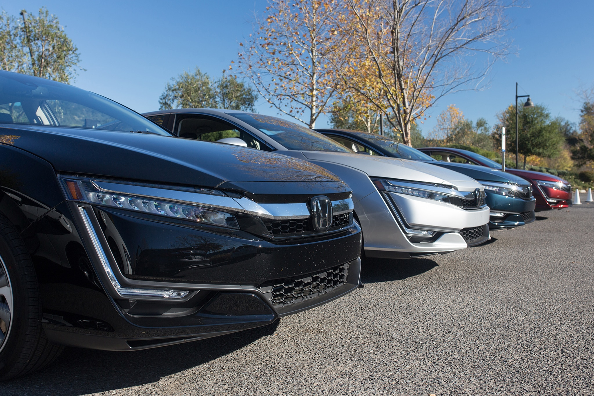 2018 honda clarity plug in first drive review automobile magazine. Black Bedroom Furniture Sets. Home Design Ideas