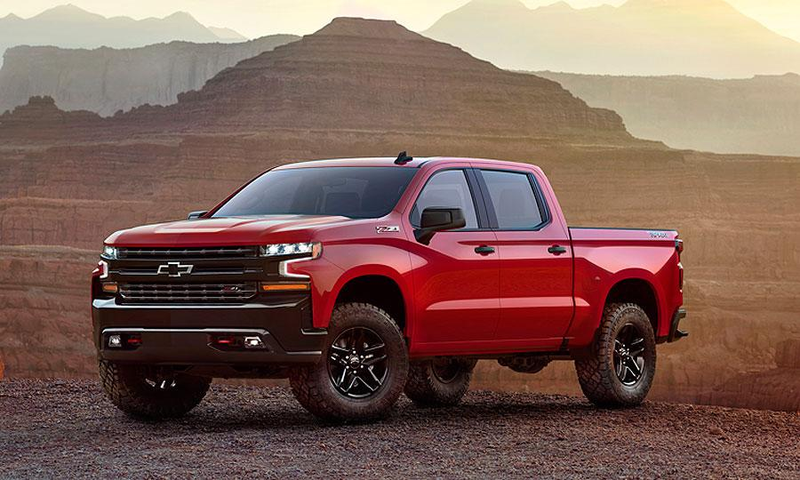 Chevrolet Silverado 1500 Trail Boss takes bowtie brand to new heights