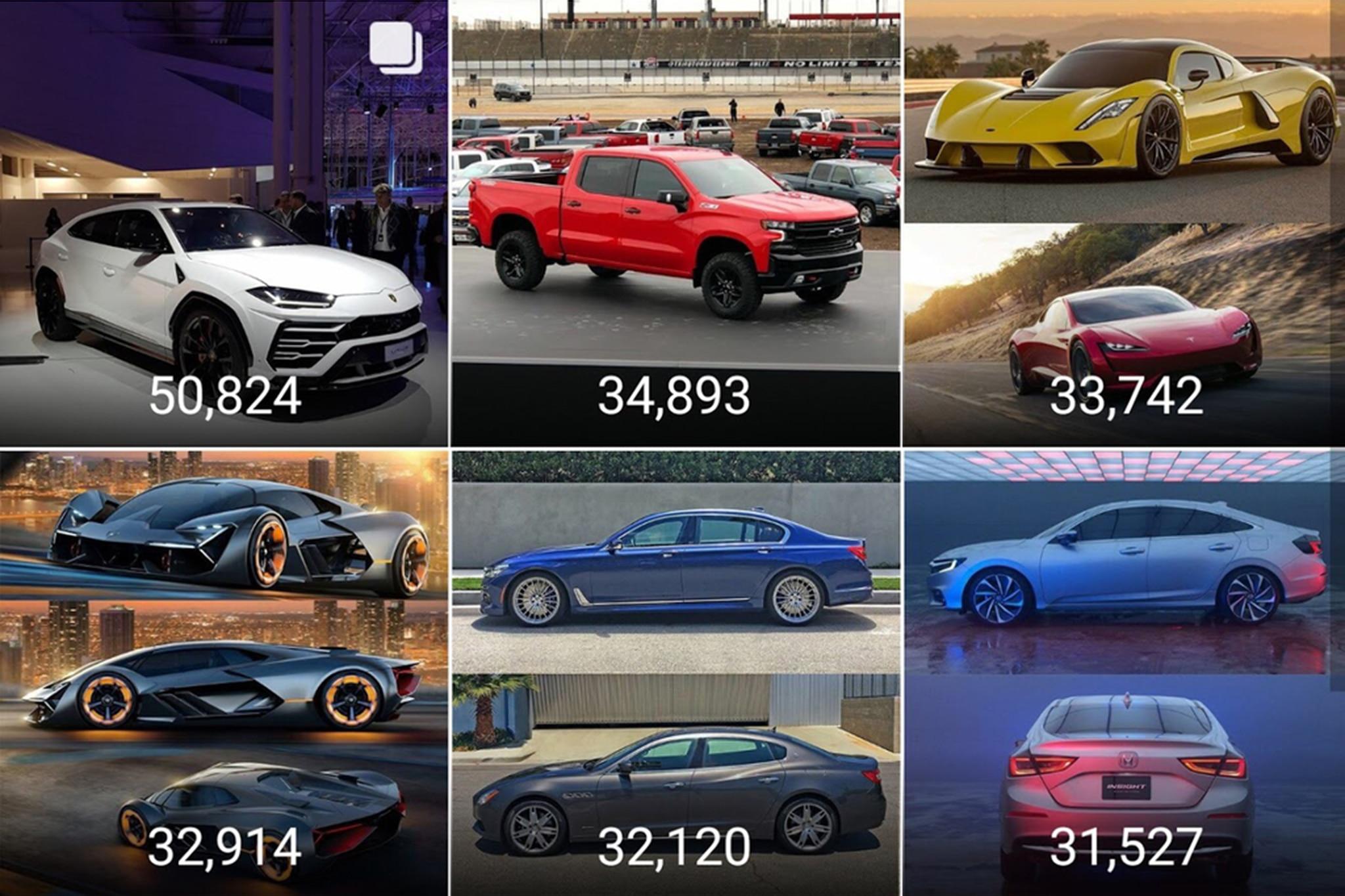 Favorite Automobile Instagram Posts