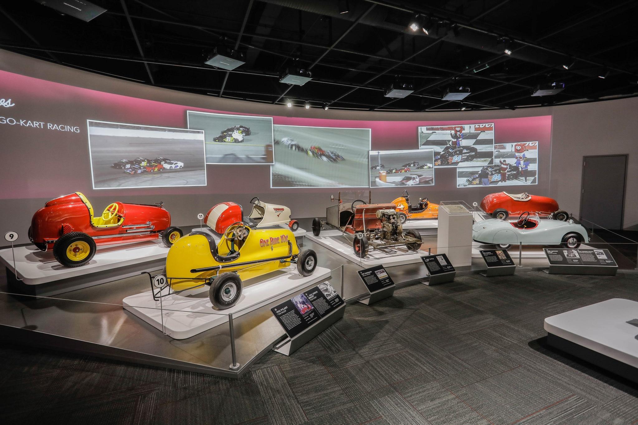 Petersen Automotive Museum Launches Sidewalk Speedsters Exhibit