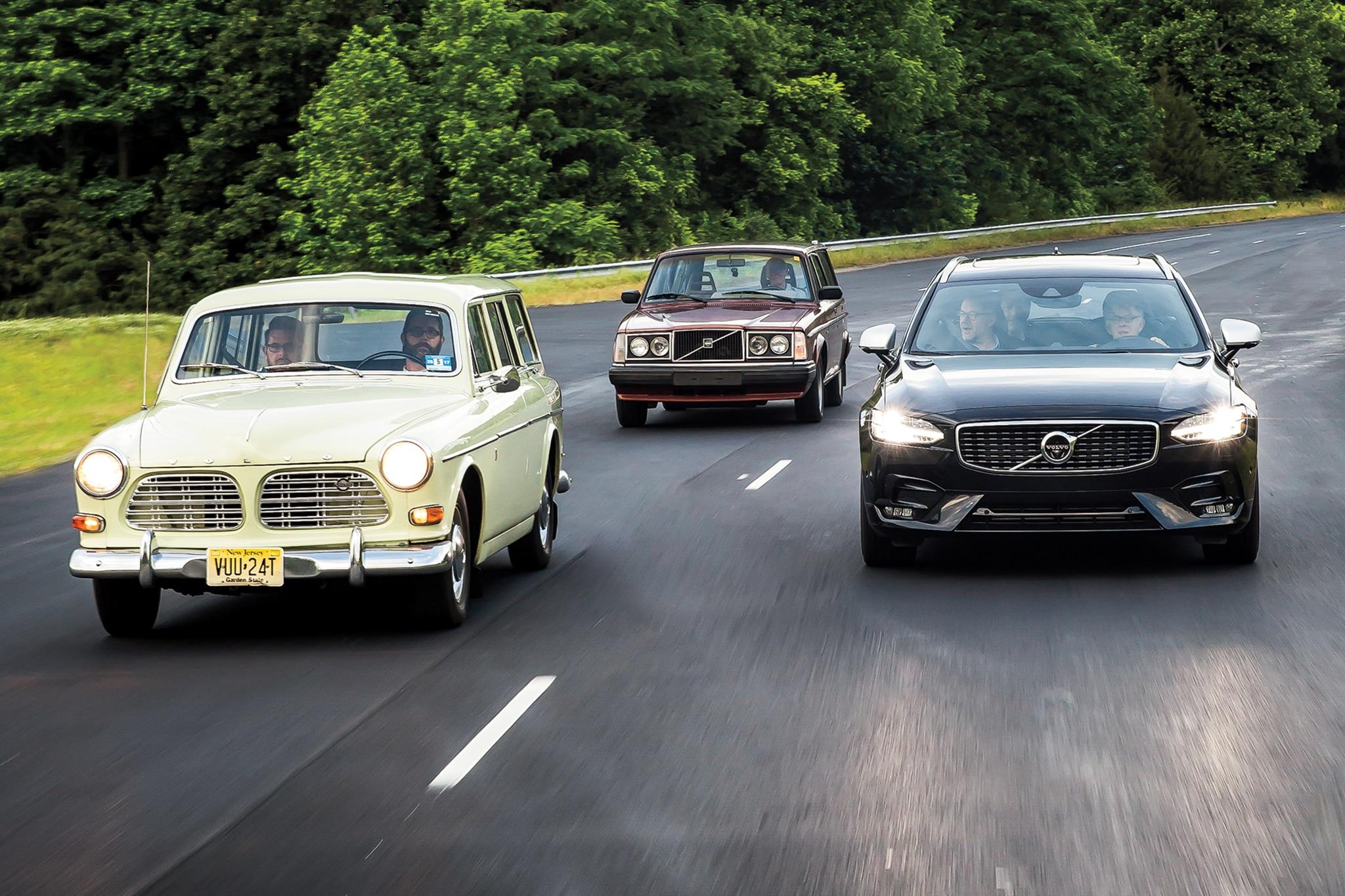 The Volvo Wagon Armada