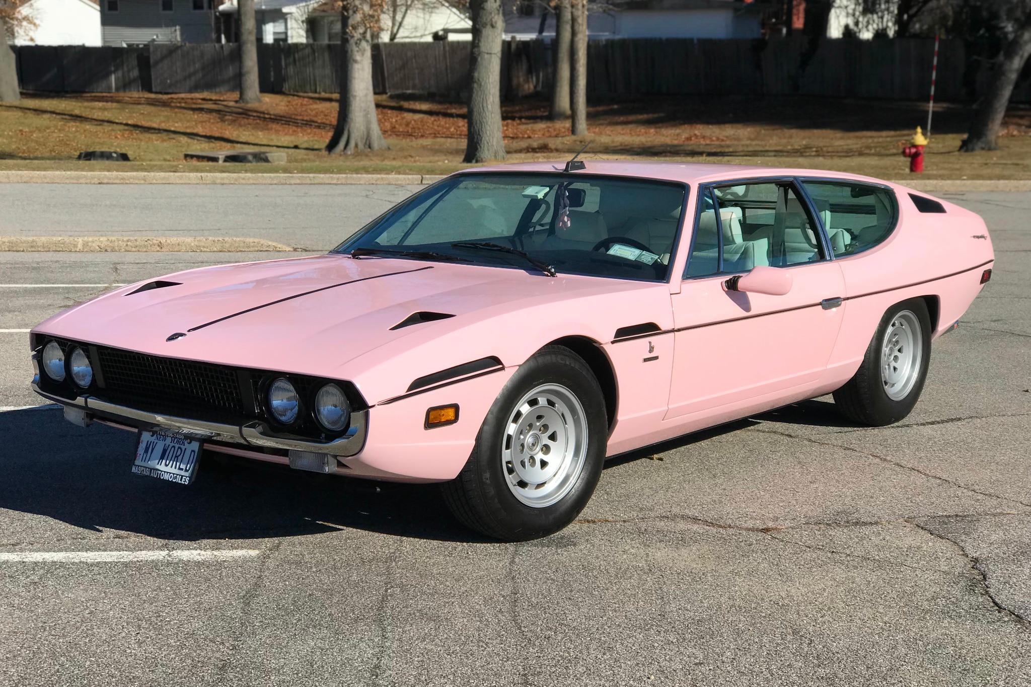 1974 Lamborghini Espada Just Listed Front Three Quarters
